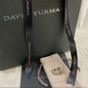 🆕 David Yurman Earrings,DY Jewelry pouch Gift 😍